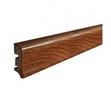 Плинтус деревянный Barlinek P20 Мербау 58х20х2200 мм