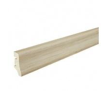 Плінтус дерев'яний Barlinek P10 Дуб білий матовий лак 40х20х2200 мм