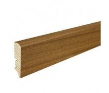 Плінтус дерев'яний Barlinek P50 Сапела 60х16х2200 мм
