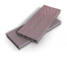 Террасная доска DeGross Exclusive 125x25x4500 мм штормовой серый