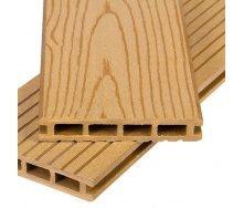 Террасная доска Polymer&Wood Premium 25x150x2200 мм дуб