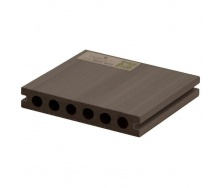 Террасная доска Woodplast Legro Ultra двуслойная 138x23x2900 мм smoke white