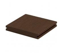 Террасная доска Woodplast Bruggan Multicolor полнотелая 130х19х2200 мм cedar