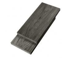 Террасная доска Woodplast Bruggan Elegant полнотелая 140х18х2900 мм wine brown