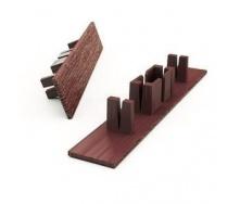 Заглушка к профилям для террасной доски Woodplast Bruggan