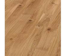 Паркетная доска BOEN Plank однополосная Дуб Vivo брашированная 2200х209х14 мм масло