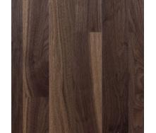 Паркетна дошка Serifoglu односмугова Американський Горіх Люкс+Стандарт T&G 1205х156х14 мм лак