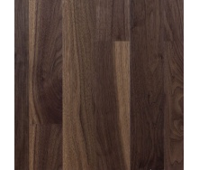 Паркетная доска Serifoglu однополосная Американский Орех Люкс+Стандарт T&G 1205х156х14 мм лак