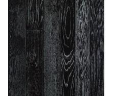 Паркетная доска DeGross Дуб черный с серебром протертый 500х100х15 мм