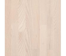 Паркетна дошка BEFAG триполосна Ясен Натур 2200x192x14 мм білий лак