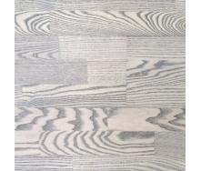Трьохсмугова паркетна дошка Focus Floor Ясен TEHUANO легкий браш сіре масло 2266х188х14 мм