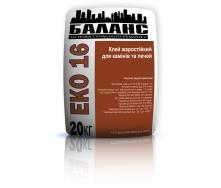 Клей жаростойкий для каминов и печей ЕКО16 20 кг