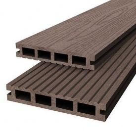 Террасная доска Woodplast Bruggan 125x23x2200 мм coffe