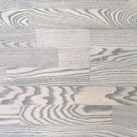 Паркетная доска трехполосная Focus Floor Ясень TEHUANO легкий браш серое масло 2266х188х14 мм