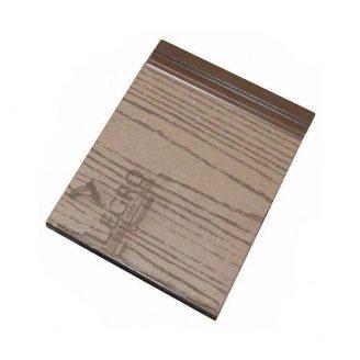 Фасадний профіль Woodplast Legro PRO 145х18х2200 мм Chocolate