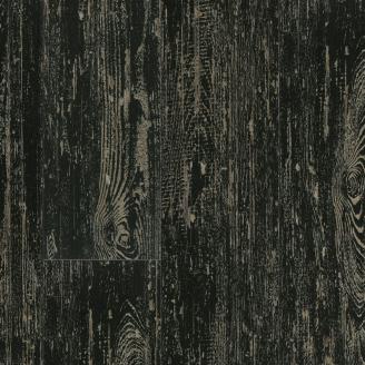 ПВХ плитка LG Hausys Decotile DSW 2367 0,5 мм 920х180х3 мм Сосна окрашенная черная