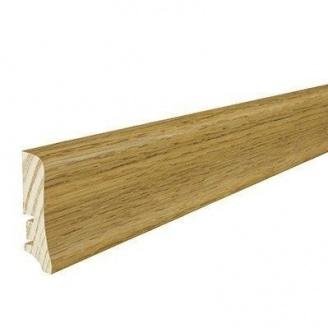 Плінтус дерев'яний Barlinek P20 Дуб темний 58х20х2200 мм