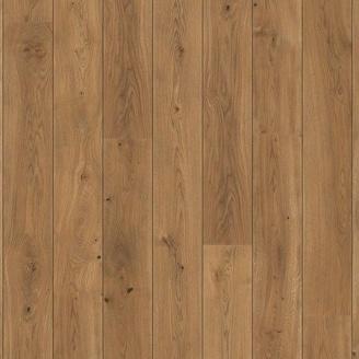 Паркетная доска BOEN Stonewashed Plank Castle однополосная Дуб Аламо фаска 2200х209х14 мм масло