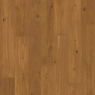 Паркетная доска BOEN Stonewashed Plank однополосная Дуб Амбер брашированная 2200х138х14 мм масло