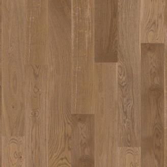 Паркетная доска BOEN Stonewashed Plank однополосная Дуб Баррел брашированная 2200х138х14 мм масло