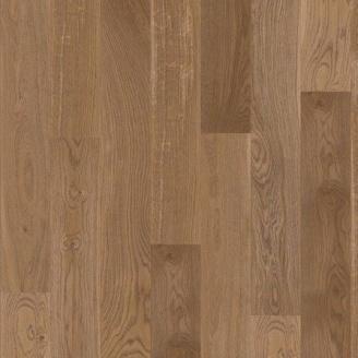 Паркетная доска BOEN Stonewashed Plank Castle однополосная Дуб Баррел брашированная 2200х209х14 мм