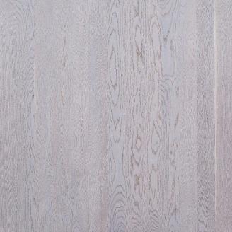 Паркетная доска однополосная Focus Floor Дуб ETESIAN WHITE снежно-белий матовий лак 1800х138х14 мм