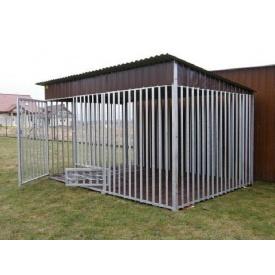 Вольєр для собак 4х2,5 м