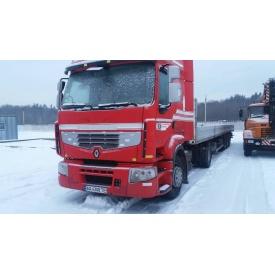 Аренда седельного тягача Renault Premium 450.18 DXI с полуприцепом Schmitz S 01 - 20 тонн