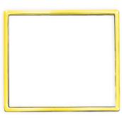 Кільце декоративне вставное для розеток і вимикачів ERSTE THEME 9209-GC золото