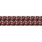 Панно из листовых панелей ПВХ Регул Розы на черном