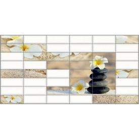Панель ПВХ Регул Плитка Сад каменів 0,4 мм 957x477 мм