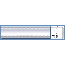 Багет потолочный Optima Decor 715 HQ 53x53 2 м