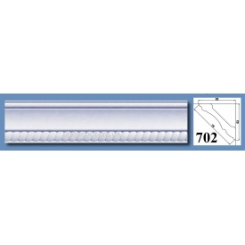 Багет потолочный Optima Decor 702 HQ 53x53 2 м