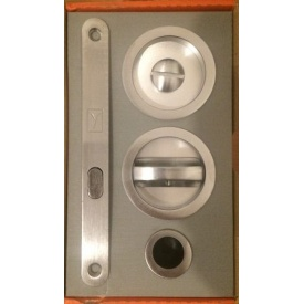 Дверная ручка з замком для раздвижных дверей 4 H 87