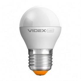 LED лампа VIDEX E-Series G45е 3,5W E27 4100K 300lm 220V