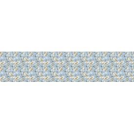 Панно из листовых панелей ПВХ Регул Синие цветы