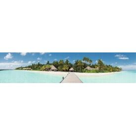 Панно из листовых панелей ПВХ Регул Пляж