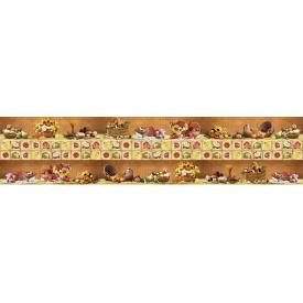 Панно из листовых панелей ПВХ Регул Деревенский натюрморт коричневый
