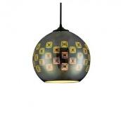 Світильник підвісний люстра Horoz Electric Spectrum E27 хром коло (021-005-0001)