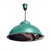 Підвісний світильник стельовий Electropark Е27 зелений СП - 3614 (П - 3614gr)