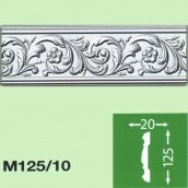 Стіновий плінтус Baraka Decor М125/10 125x20 2 м