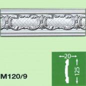 Стеновой плинтус Baraka Decor М120/9 125x20 2 м
