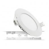 Світильник світлодіодний UKRLED вбудовуваний 9W 810Lm 6500К алюміній круглий (258)