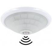 Світильник настено-стельовий TEB Electrik LIGHTING FIXTURE + SENSOR Е27 білий (400-002-112)