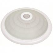 Світильник настінно-стельовий TEB Electrik LIGHTING FIXTURE + SENSOR Е27 білий (400-001-112)