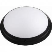 Світильник вологозахищений настінний TEB Electrik AQUA OPAL Е27 чорний (400-011-105)