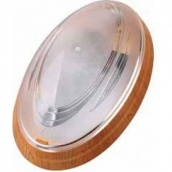 Світильник настінний TEB Electrik NINOVA Е27 бук (400-014-107)