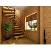 Винтовая лестница деревянная