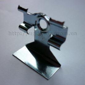 Кріплення метал для монтажу плінтуса до стіни кляймер 50 шт + дюбель