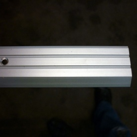 Разноуровневый алюминиевый профиль Элит АП 007 30 мм рифленый